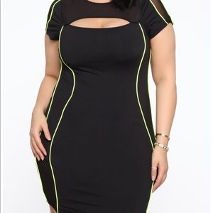 Fashion nova plus size dress